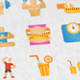 Health & Diet Modern Flat Animated Icons - VideoHive Item for Sale