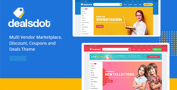 Dealsdot - Multi Vendor Marketplace Theme