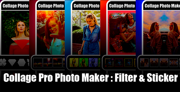 New Photo Collage Editor & Collage Pro Android App with Admob Ads Full Code, Guide