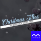 Christmas Titles - VideoHive Item for Sale