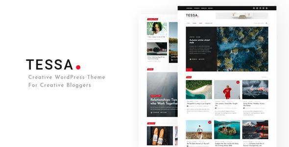 Tessa - Modern Theme for Blogs & Magazines