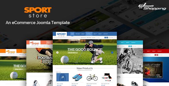 Sport Store – Responsive Joomla Template