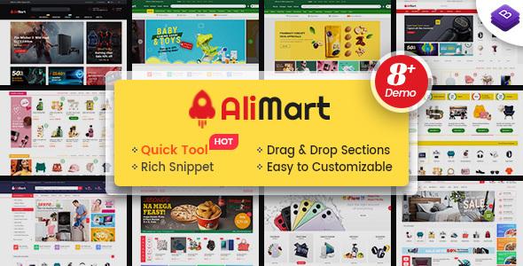 AliMart - Multipurpose Premium Sections Shopify Theme