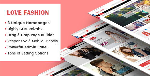 LoveFashion – Responsive Multipurpose Sections Drag & Drop Builder Shopify Theme