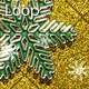 Golden Holiday Green Glitter 48 - VideoHive Item for Sale