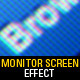 Monitor Screen Mockup - 8 Realistic Effects - GraphicRiver Item for Sale