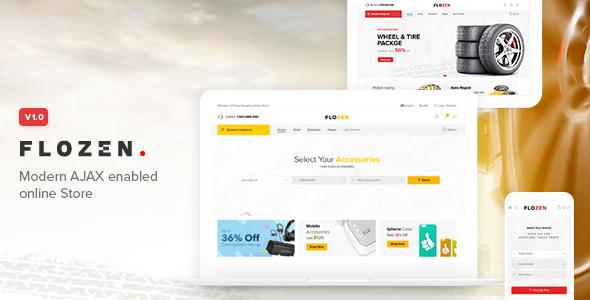 Flozen - WooCommerce AJAX WordPress Theme by NasaTheme