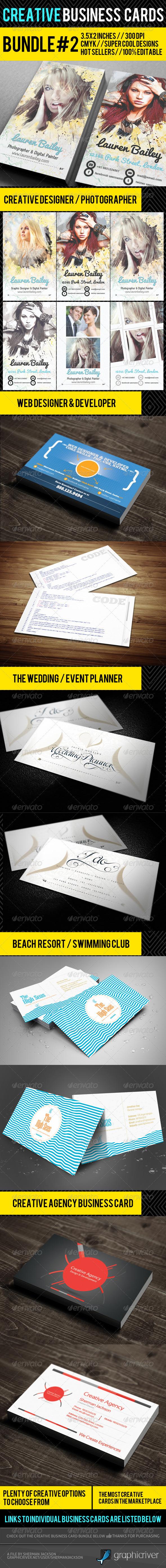 Creative Business Card Premium Bundle #2 - Creative Business Cards