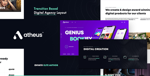 Atheus   Modern Creative Agensy by drection