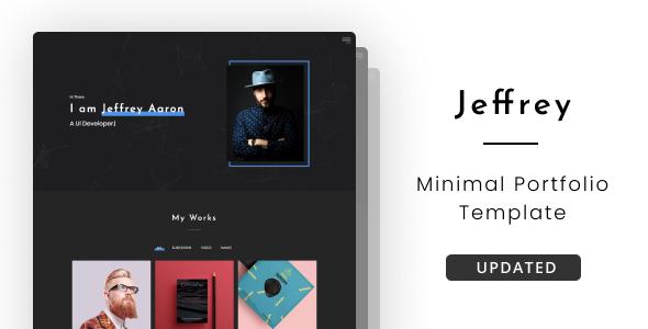 Jeffrey - Personal Portfolio Template by beingeorge
