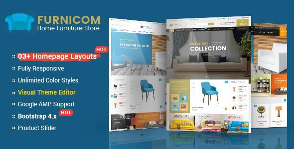 Furnicom – The Interior, Architecture and Furniture BigCommerce Theme