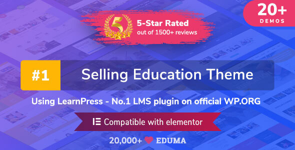 Extraordinary Education WordPress Theme | Eduma