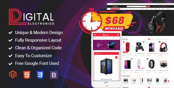 Digital - Responsive Magento 2 Shopping Theme