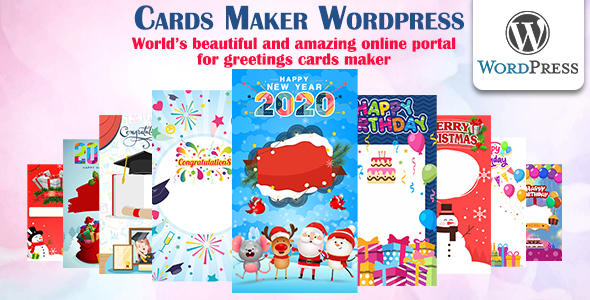 Download Cards Maker WordPress Free Nulled