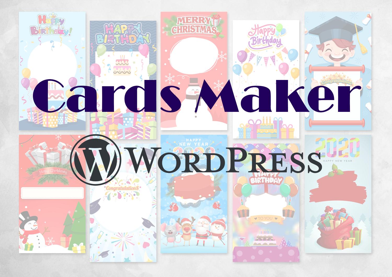 Cards Maker - 1