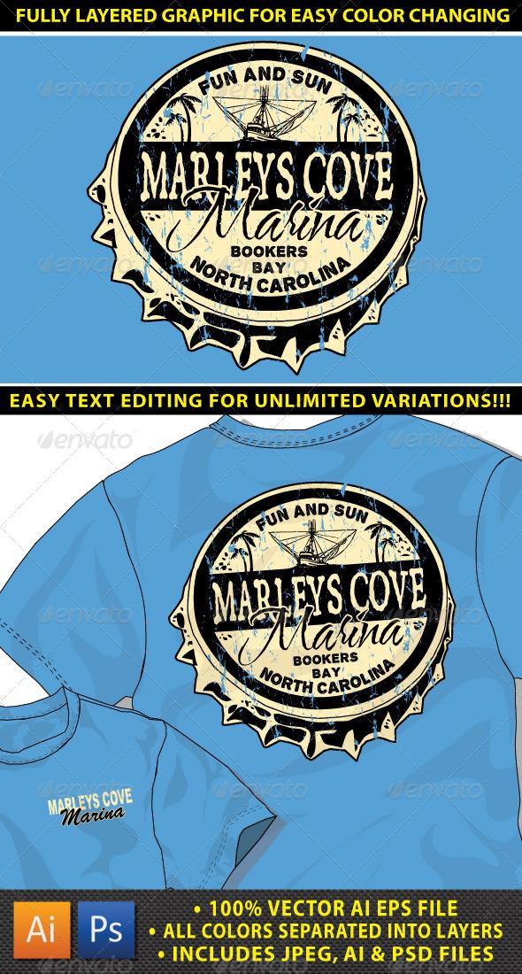 Island Resort T-shirt Design - Designs T-Shirts