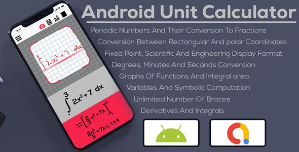 Android Unit Calculator   Converter   Admob Ads Full Application   Admob