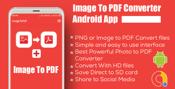Image To PDF Converter + Android Mobile App+Admob Ads Full Application