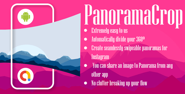 Coolpad Panoramacrop For Instagram   Android App   Admob Ads