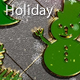 Winter Holiday Green Glitter 46 - VideoHive Item for Sale