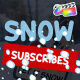 Snow Subscribes | FCPX - VideoHive Item for Sale