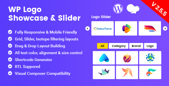 WP Logo Showcase - Responsive WP Plugin
