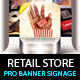Retail Store Billboard & Outdoor Banner Signage
