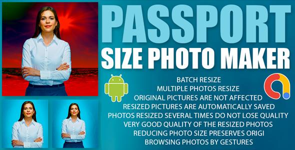 Passport Size Photo Maker   ID Photo Maker Studio   Passport Photo Editor   Android Code   Admob Ads