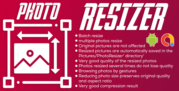 Photo Resizer   Image Compressor   Android Full App Code   Admob Ads