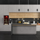 Minimalist concrete and wooden Kitchen - PhotoDune Item for Sale