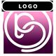 Romantic Emotional Love Piano Logo