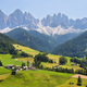 Mountain views near Santa Magdalena, Val di Funes, Dolomite Alps, Italy - PhotoDune Item for Sale