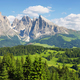 Sassolungo and Sassopiatto mountains from Alpe di Siusi or Seiser Alm, Dolomites Alps , Italy - PhotoDune Item for Sale