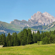 Seceda mountain views from Alpe di Siusi or Seiser Alm, Dolomites Alps , Italy - PhotoDune Item for Sale