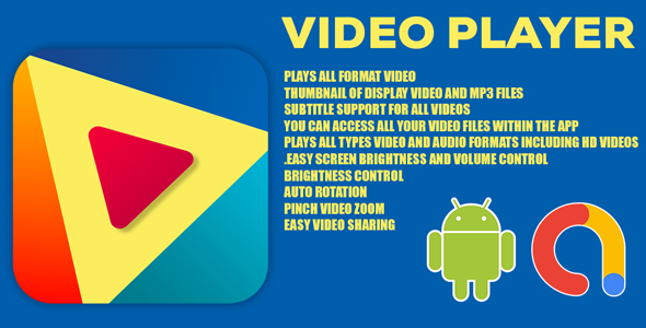 HD Video Player   SX Video Player    Android Full Application with documentation   Admob Ads