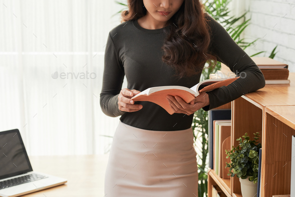 Reading woman - Stock Photo - Images