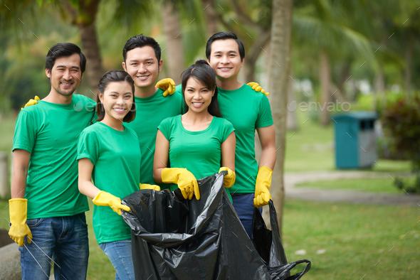 Environmental activists - Stock Photo - Images