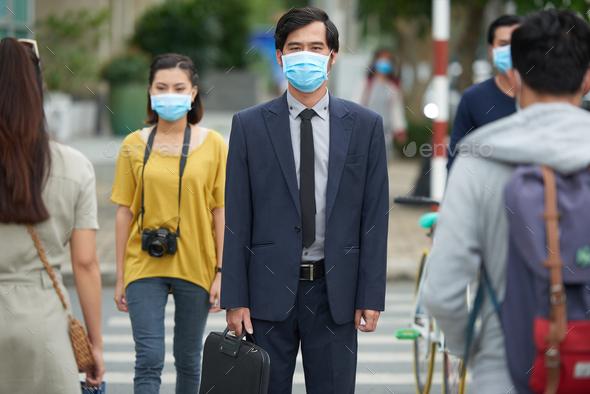 Flu epidemic - Stock Photo - Images
