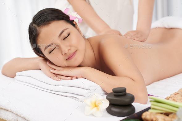 Massage session - Stock Photo - Images