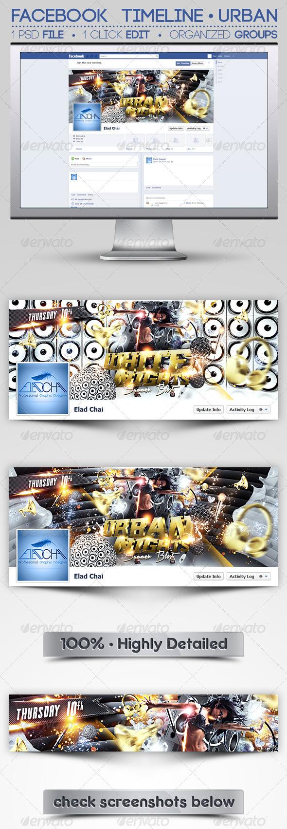 Facebook Timeline Cover | Urban Nights - Facebook Timeline Covers Social Media