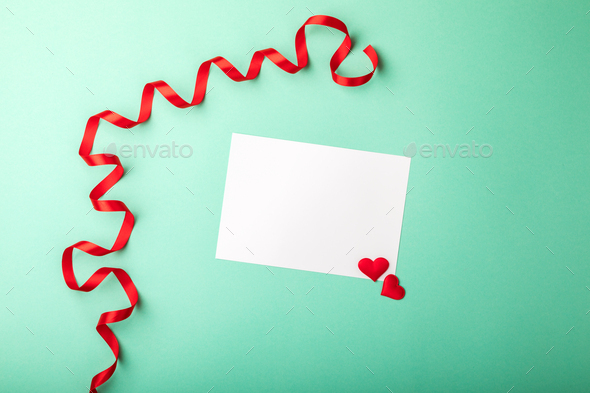 Love letter.Holiday Day Valentine ,Birthday,Greeting Card,Gift. - Stock Photo - Images