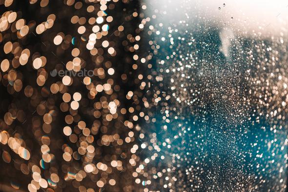 Blurred shiny background - Stock Photo - Images