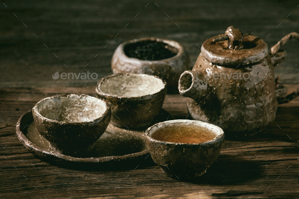 Hot black tea - Stock Photo - Images