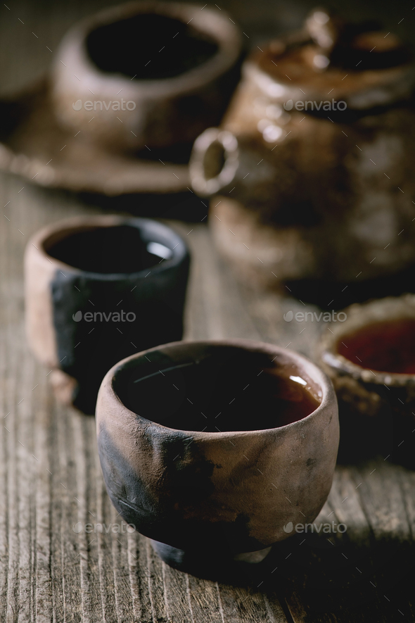 Hot black tea - Stock Photo - Images