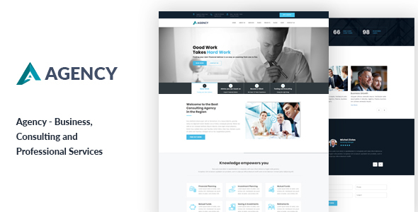Agency - Business Consultancy HTML Template