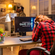 Gamer woman losing at a video game playing late at night in the living room - PhotoDune Item for Sale