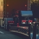 Platform Trailer Semi Truck - PhotoDune Item for Sale