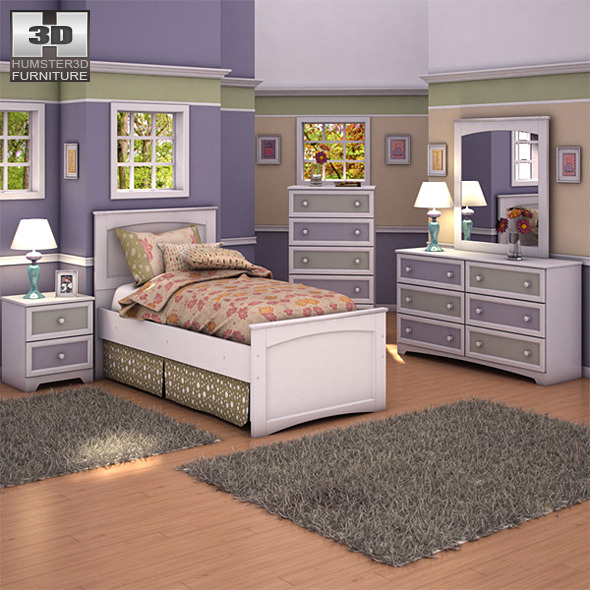 Ashley Sandhill Panel Bedroom Set