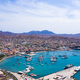 Aerial view of Mindelo Marina in Sao Vicente Island in Cape Verde - PhotoDune Item for Sale