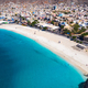 Aerial view of Laginha beach in Mindelo city in Sao Vicente Island in Cape Verde - PhotoDune Item for Sale